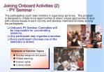joining onboard activities 2 py seminar
