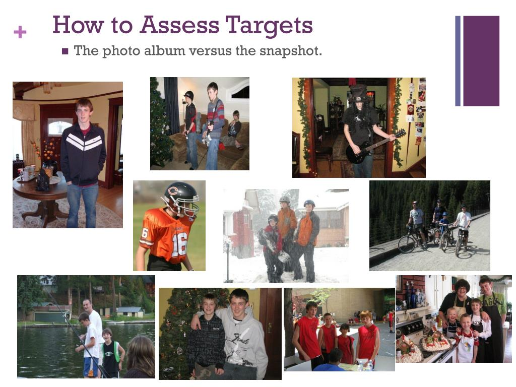 How to Assess Targets