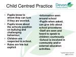 child centred practice