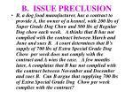 b issue preclusion