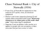 chase national bank v city of norwalk 1934