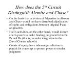 how does the 5 th circuit distinguish alemite and chase33