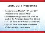 2010 2011 programme16