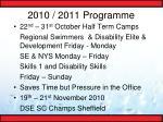 2010 2011 programme8