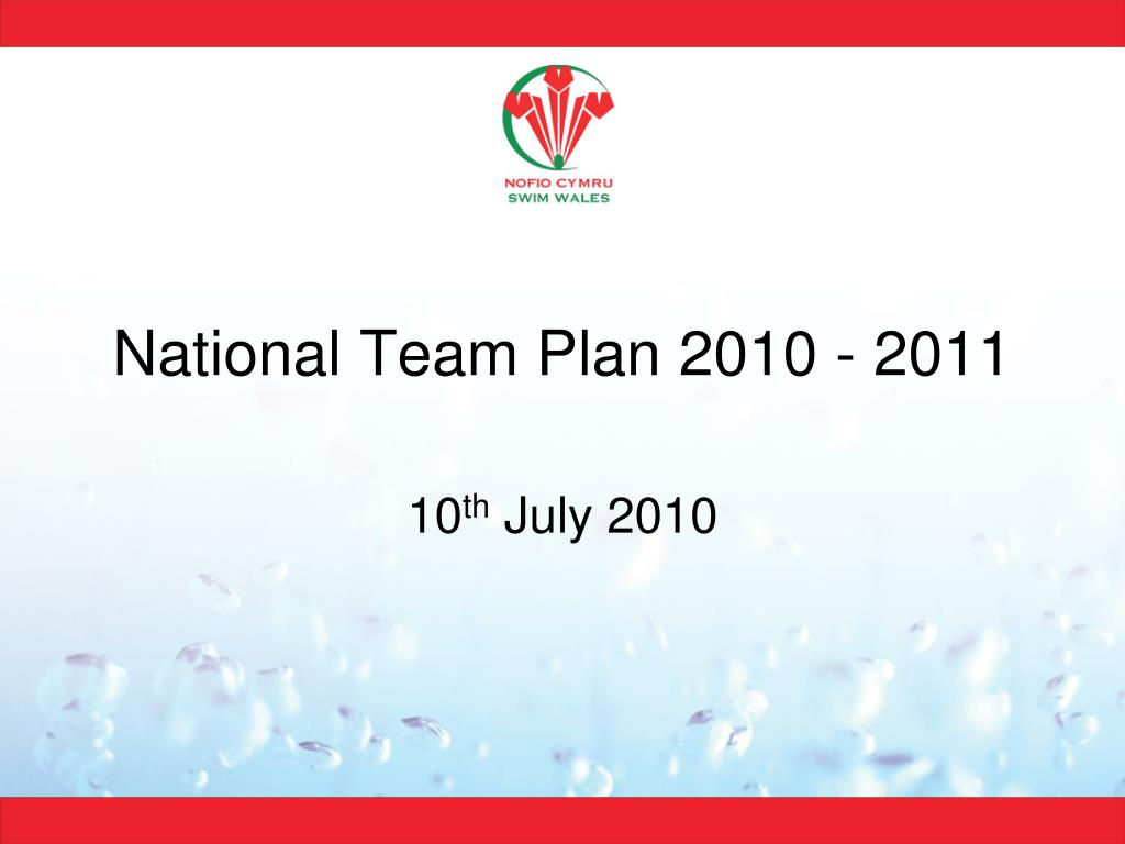 national team plan 2010 2011 l.