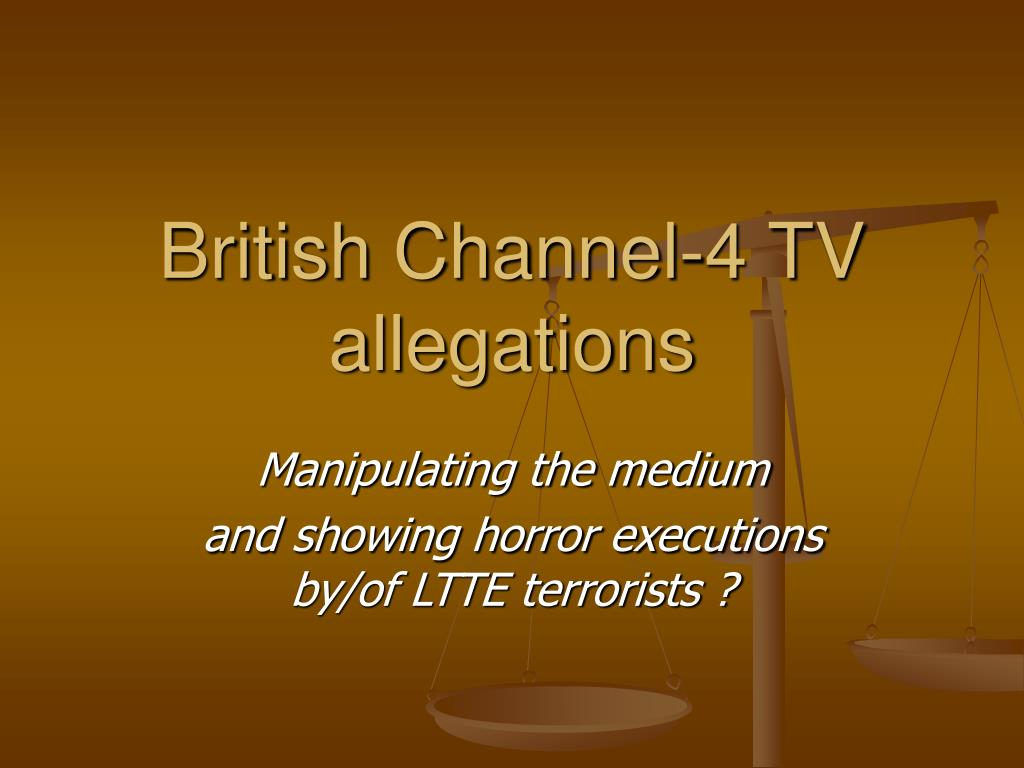british channel 4 tv allegations l.