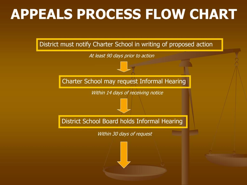 APPEALS PROCESS FLOW CHART