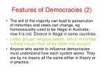 features of democracies 2