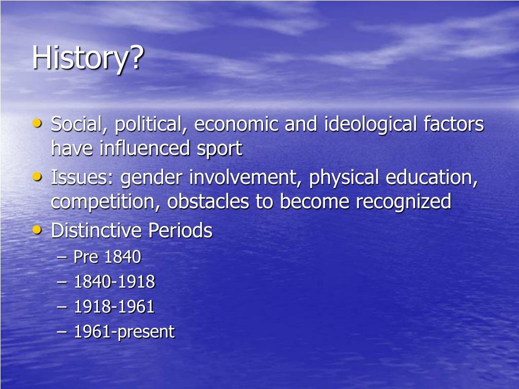 History?