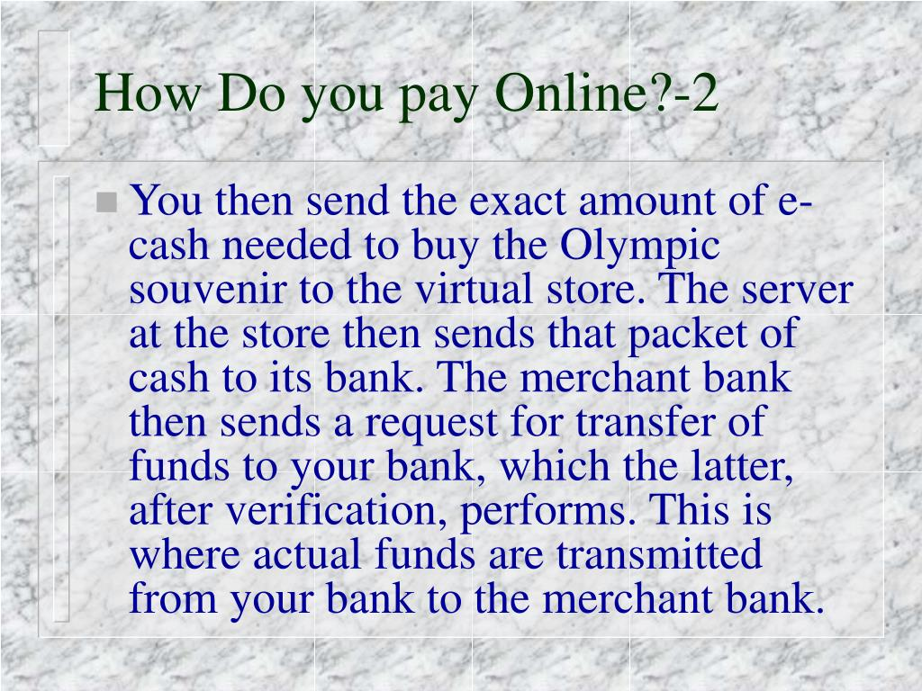 How Do you pay Online?-2