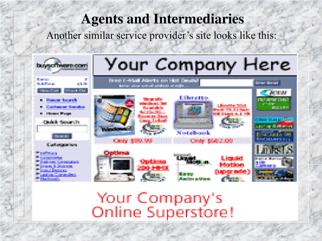 Agents and Intermediaries