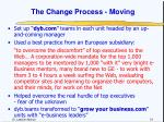 the change process moving