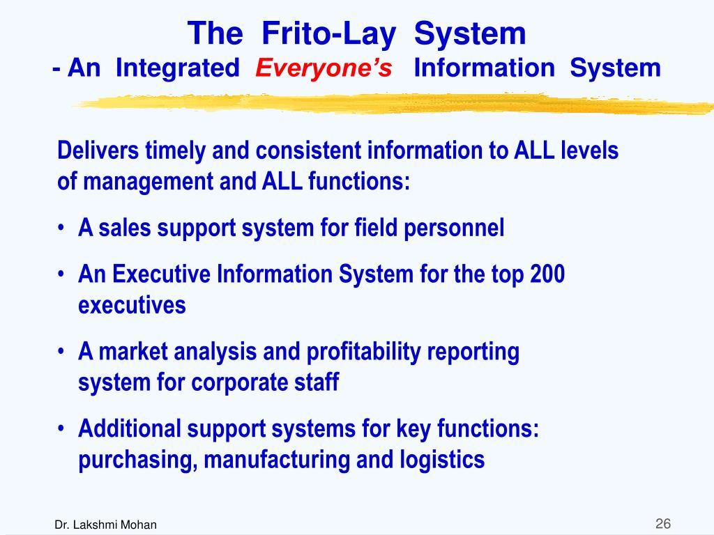 The  Frito-Lay  System