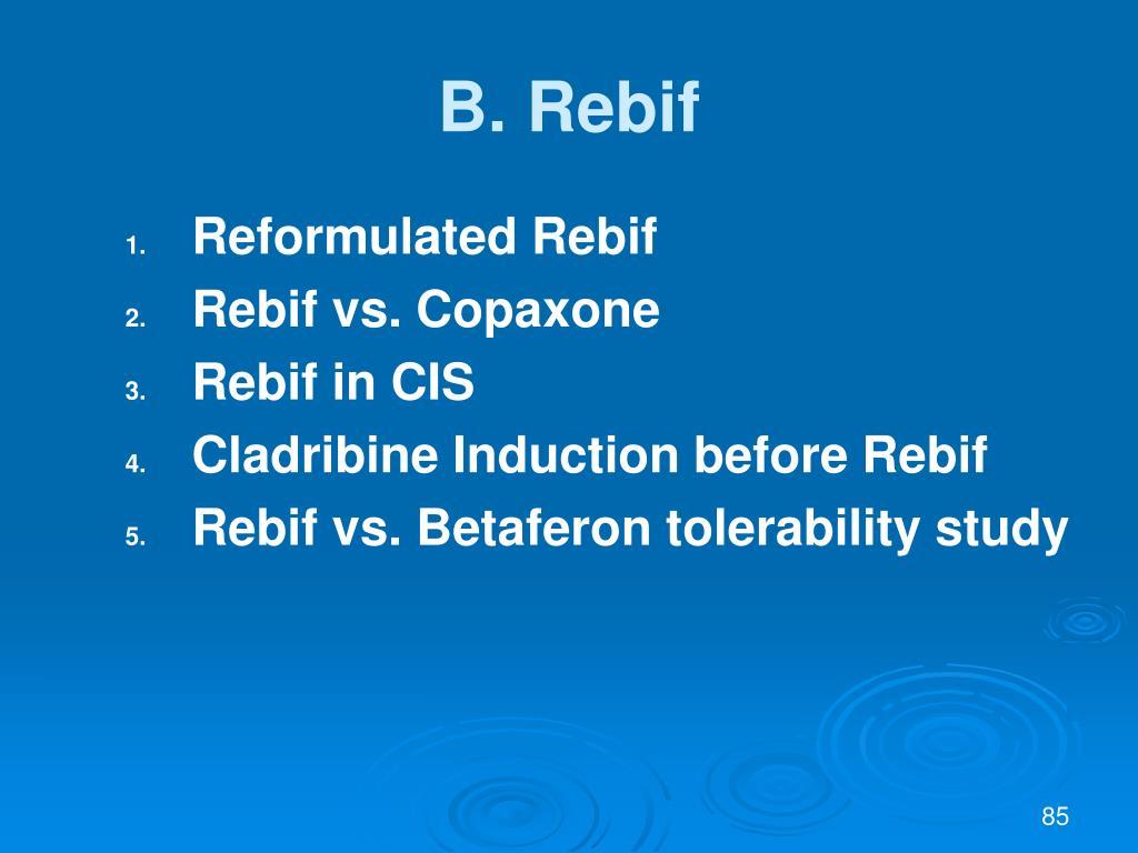 B. Rebif