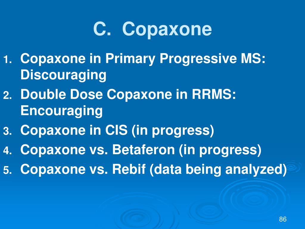 C.  Copaxone