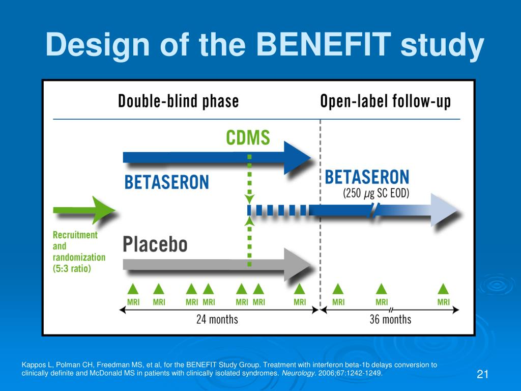 Design of the BENEFIT study