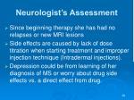 neurologist s assessment44