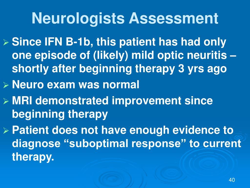 Neurologists Assessment
