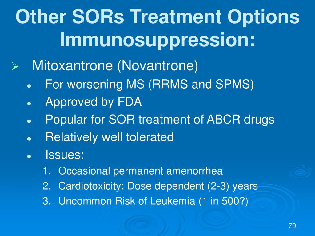 Other SORs Treatment Options
