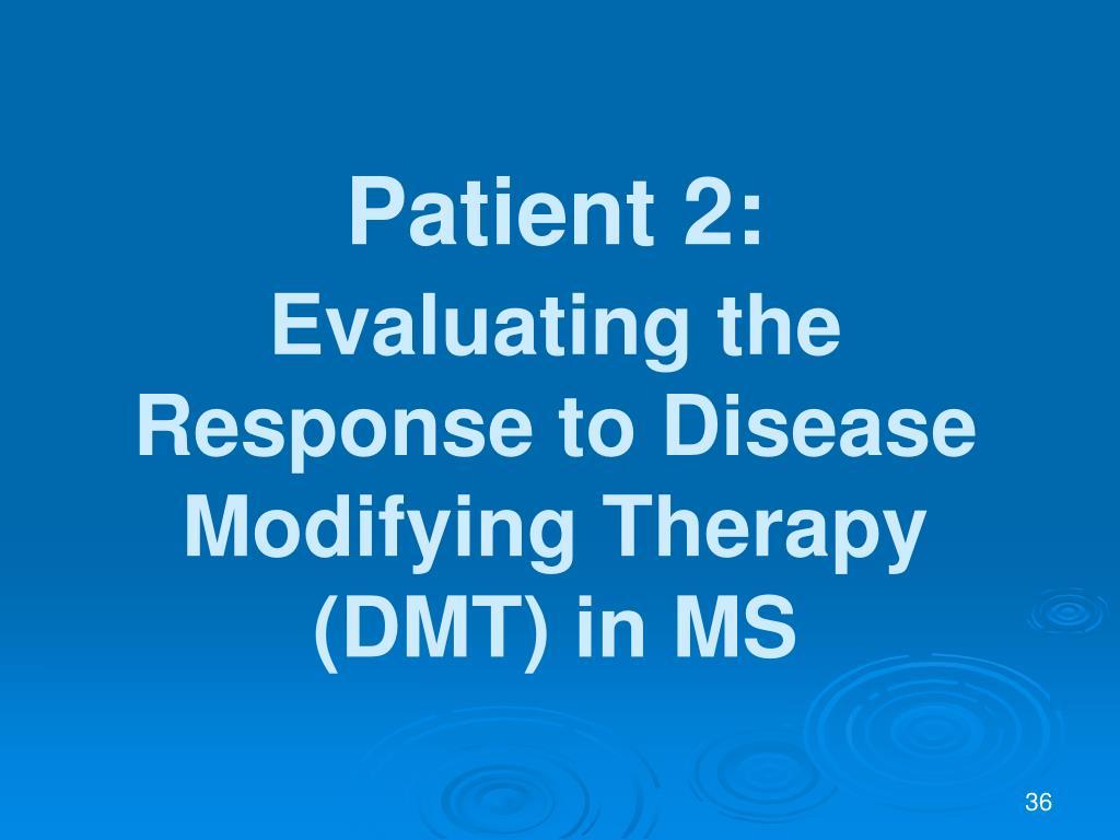 Patient 2: