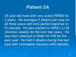 patient 5a