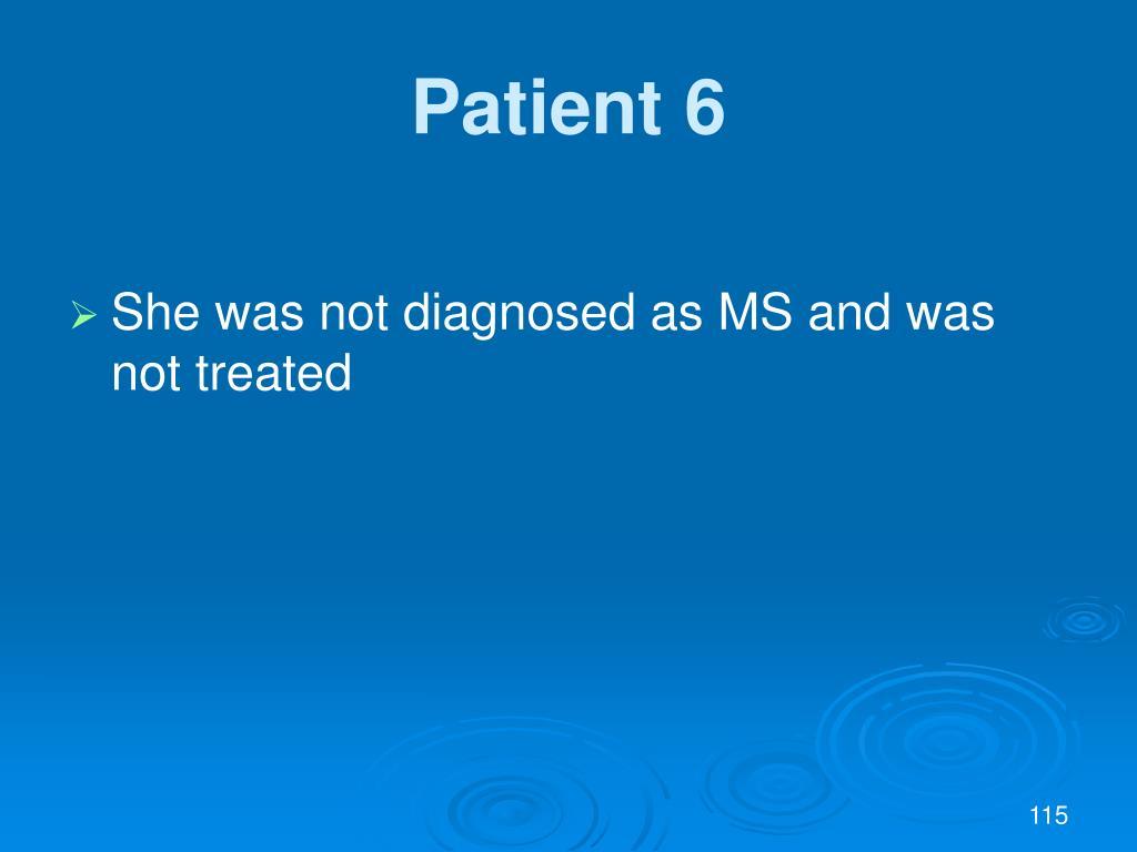 Patient 6