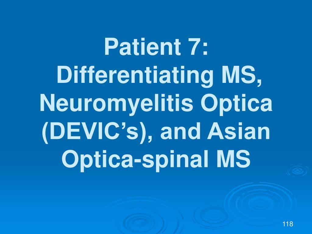 Patient 7: