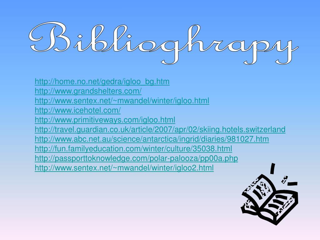 Biblioghrapy