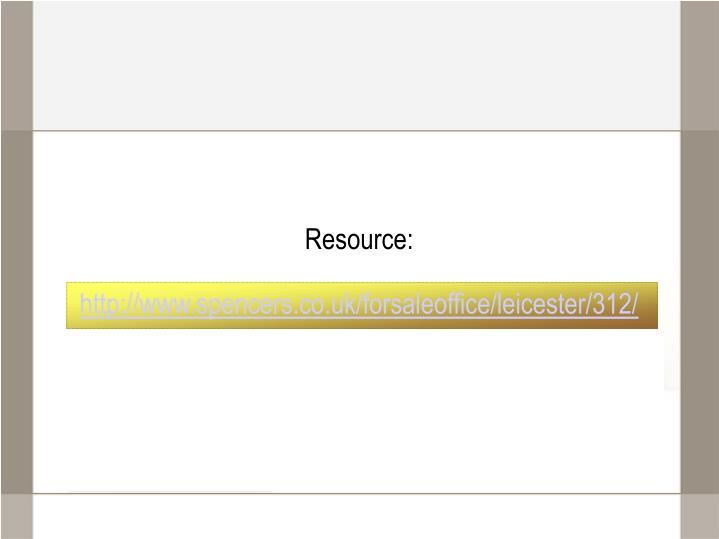 Resource: