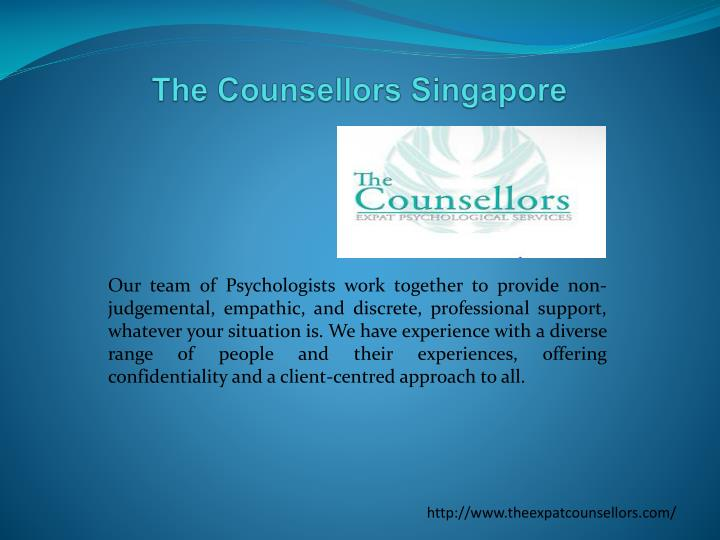 the counsellors singapore n.