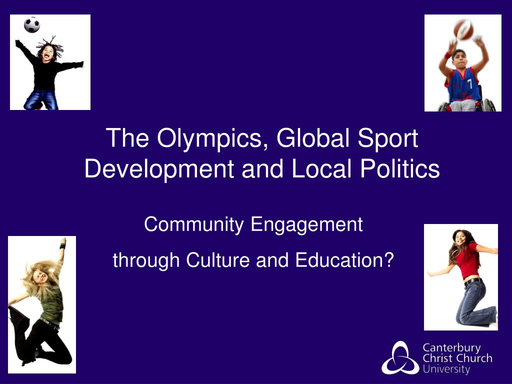 the olympics global sport development and local politics l.
