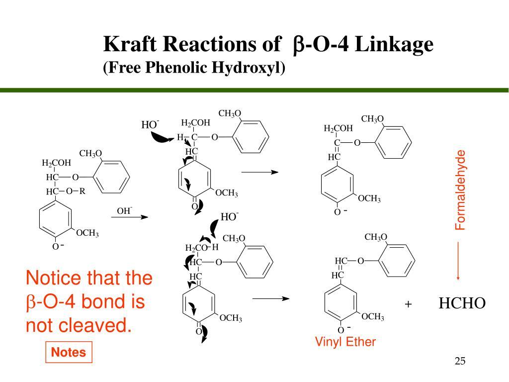 Kraft Reactions of