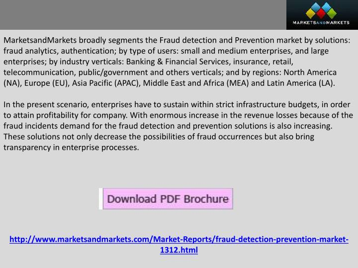 global fraud detection and prevention market Global fraud detection and prevention market 2018 covers a complete market  structure across the world with the detailed analysis of major.