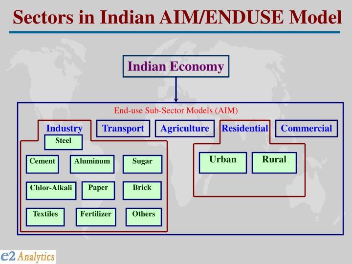 End use sub sector models aim3