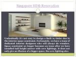 singapore hdb renovation