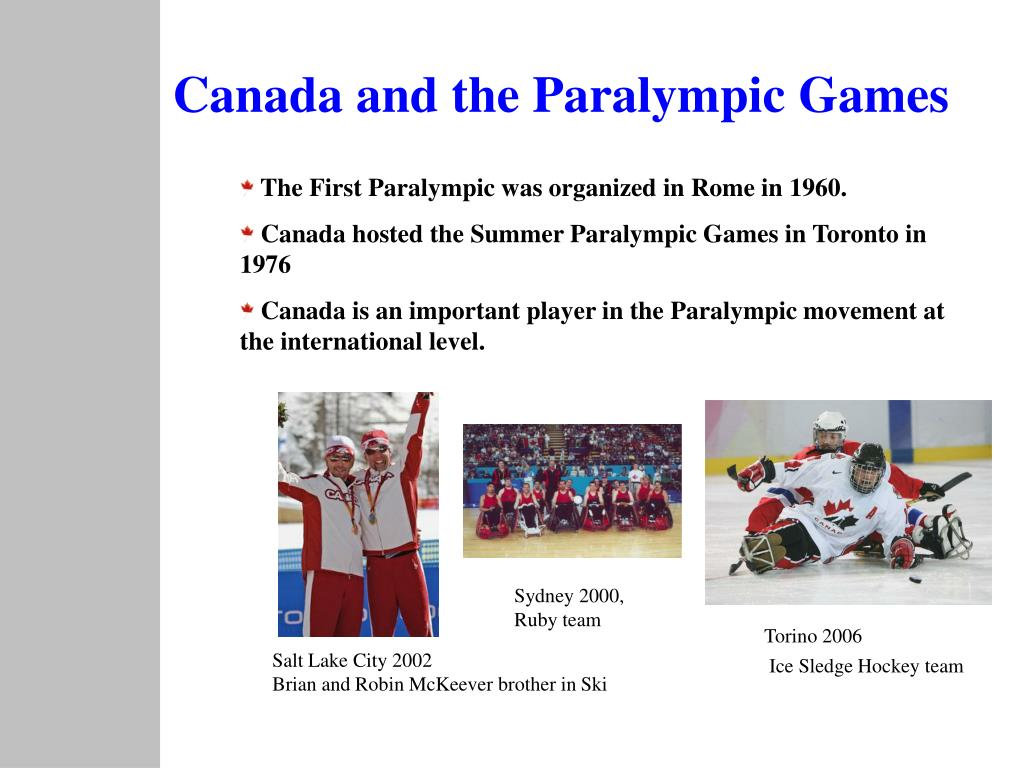 Canada and the Paralympic Games