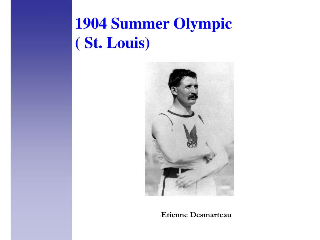 1904 Summer Olympic
