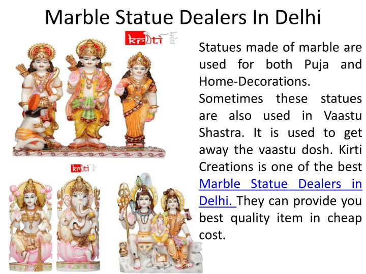 marble statue dealers in delhi