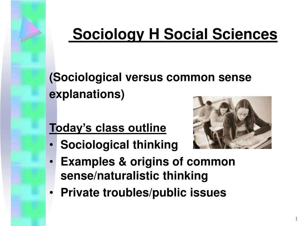 sociology h social sciences