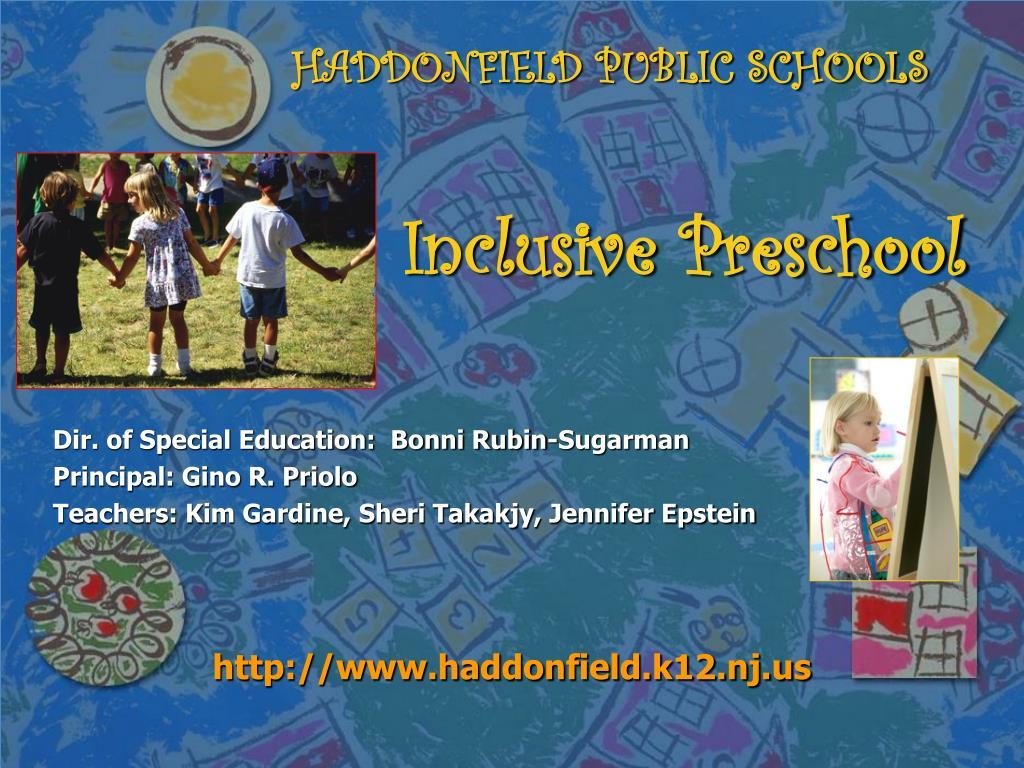 HADDONFIELD PUBLIC SCHOOLS