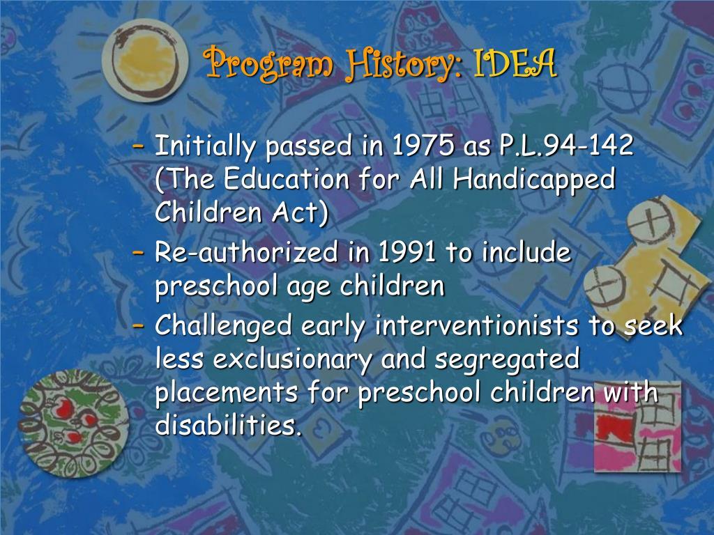Program History: