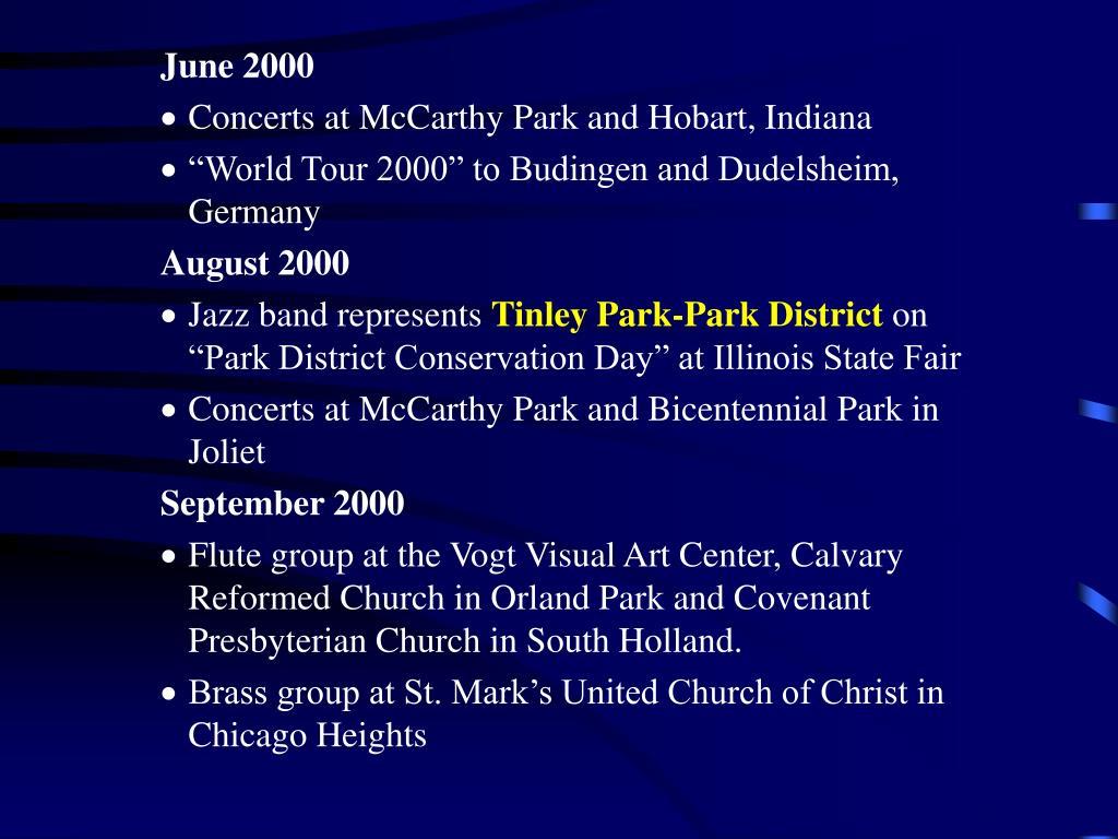 June 2000