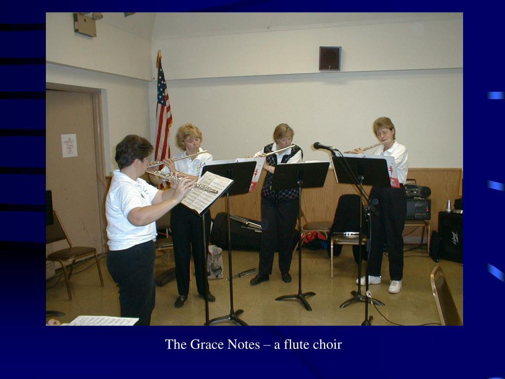 The Grace Notes – a flute choir