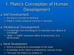 1 plato s conception of human development