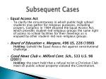 subsequent cases38