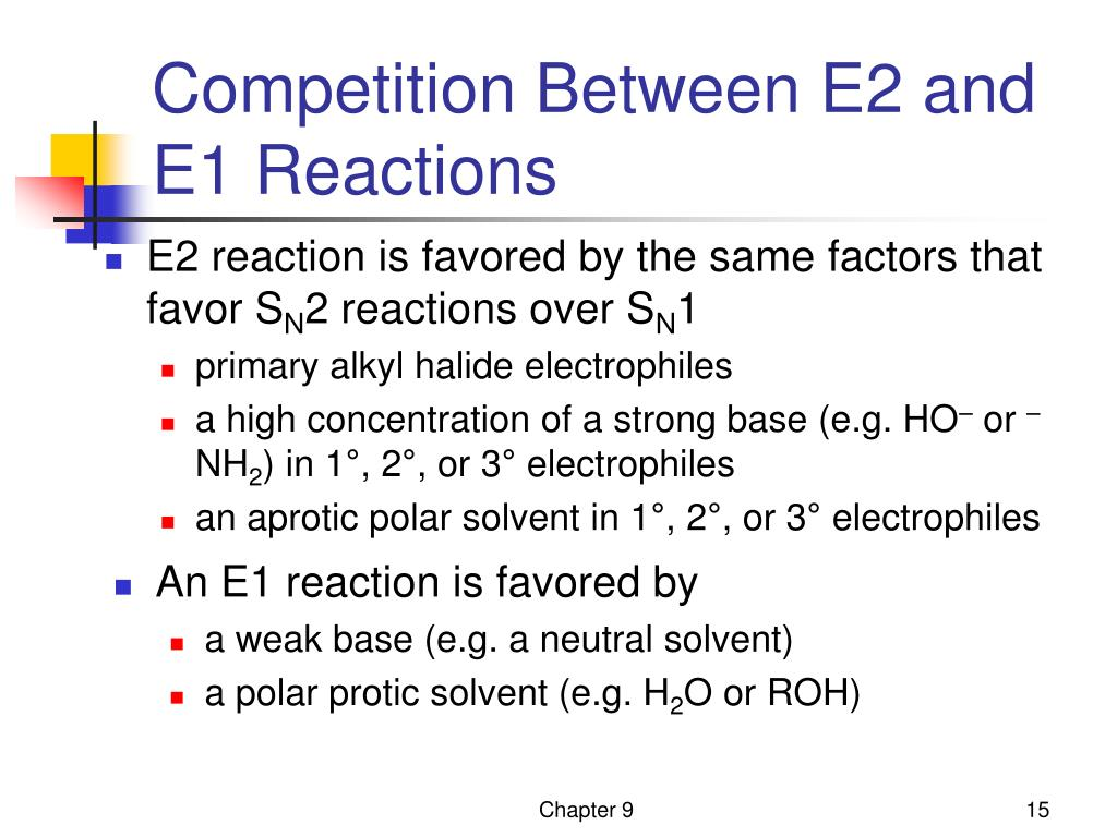 Ppt Elimination Reactions Of Alkyl Halides Chapter 9
