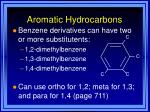 aromatic hydrocarbons44