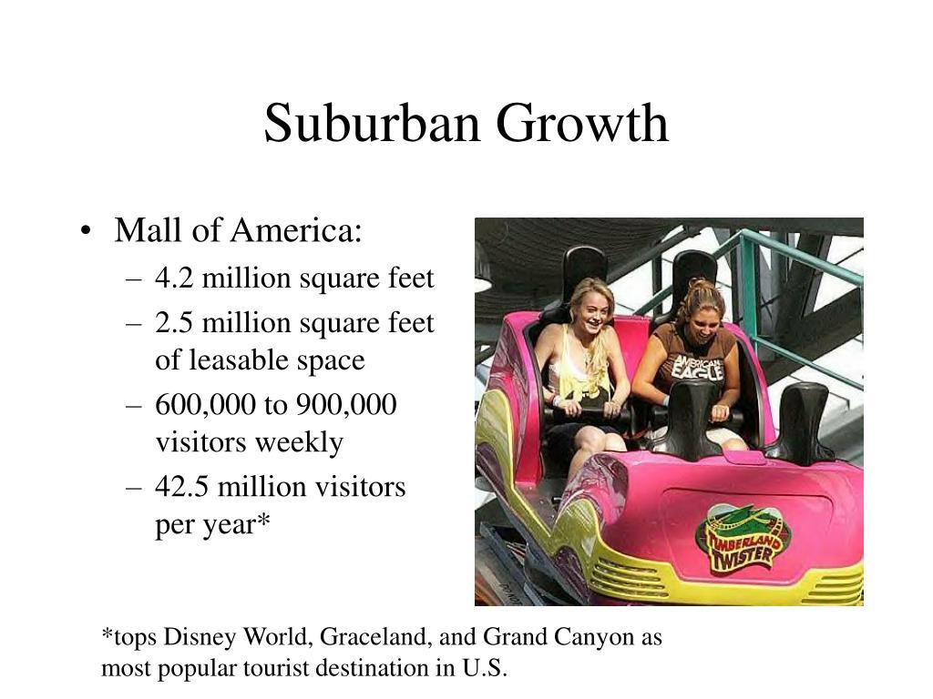 Suburban Growth