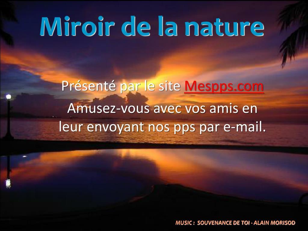 Miroir de la nature