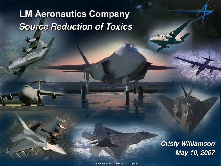 Source Reduction of Toxics